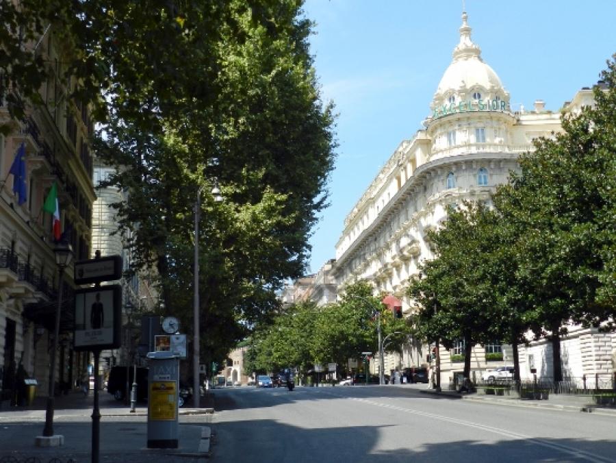 Come spostarsi dove parcheggiare dove dormire a Roma
